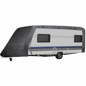 vidaXL Wohnwagen Schutzhülle Gr. M Caravan Abdeckung Schutzhaube Plane Garage