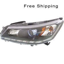 Halogen Head Lamp Assembly LH Side Fits Honda Accord Hybrid Model HO2502166