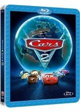 BARGAIN CARS 2 - STEELBOOK BLU RAY DISNEY - SEALED NEW AND MINT