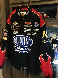 Nascar Driver Jeff Gordon 24 DuPont Twill Jacket In A Size 2XL  New With Tags
