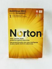 Symantec Norton Antivirus 2011 with Anti-spyware