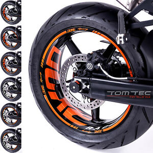 Aufkleber KTM SuperDuke 990 R SM Duke III 3 690 950 Wheelsticker TOMTEC-Racing®