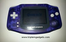 Nintendo Game Boy Advance GBA Glacier claro púrpura