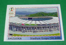 N°24 SHIZUOKA STADE WORLD CUP PANINI FOOTBALL JAPAN KOREA 2002 COUPE MONDE FIFA