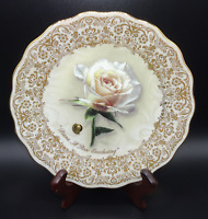 BRADFORD EXCH 1998 DIANA A ROSE EVERLASTING Ltd Ed Plate Musical #1 in series