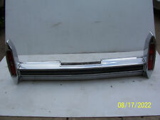 1987 1988 1989 BROUGHAM REAR BUMPER USED WEAR CADILLAC PITTING SCRATCHES