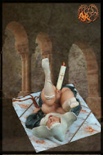 The candle Dragonettes Pin up Figuren Metall ASR.10