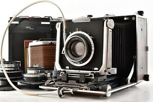 【EXC+4】 Linhof Super Technika V 4x5 135mm 150mm 180mm F5.6 Lens From Japan Z06Y