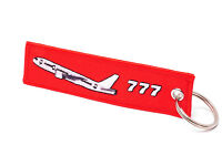 "REMOVE BEFORE FLIGHT - BOEING 777 ""Triple Seven"" - Schlüsselanhänger - B777"