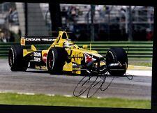 Heinz-Harald Frentzen Foto Original Signiert Formel 1 +G 18624