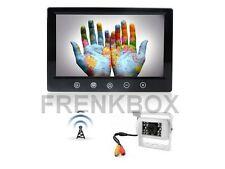 """Kit retromarcia Telecamera wireless senza fili Monitor LCD 9"""" per auto camper"""