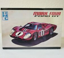 Vintage IMC Mark Four Ford GT Model Car Kit, 1/25 Scale, SEALED PARTS BAGS