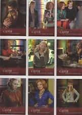 """Castle Seasons 3&4 - Foil Parallel """"Family Ties"""" Set of 9 Chase Cards #FT1-FT9"""