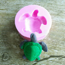 Tortoise Shape Silicone Fondant Mould Cake Decorating Baking Chocolate Molds