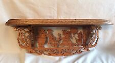 Winnie The Pooh And Friends Wooden Shelf - New