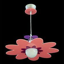 Lampadario A Sospensione FIORE Plexiglass Vari Colori Per Cameretta Bambini E27