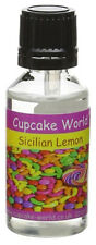 Cupcake World Sicilian Lemon Intense Strong Food Flavouring Concentrates 28.5 ml