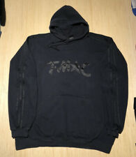 Vintage Adidas TMAC Tracy McGrady NBA Stripes Black Hoodie Sweatshirt 2XL