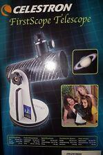 Spiegelteleskop Teleskop mit Tischstativ Celestron Firstscope OVP