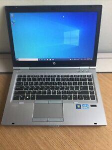 "HP EliteBook 8470P 14"" Laptop - i5-3340M✔4 GB RAM✔500GB HDD✔DVD+RW✔WEBCAM✔WIN 10"