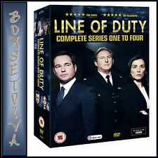 LINE OF DUTY - COMPLET SERIES 1 2 3 & 4  *** BRAND NEW DVD BOXSET ***