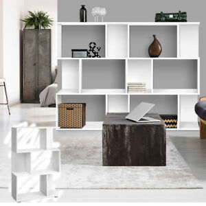 3 Tier Display Shelf Bookshelf Cube Unit Bookcase Rack Storage White Book Shelf