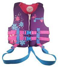 Speedo Swim Vest UV Neoprene Swim Vest Medium Ages 2-4 Weight 33-45 Blue