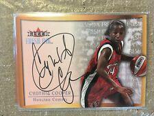 2000 Ultra WNBA Fresh Ink Autograph Cynthia Cooper