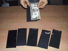 MAKING EZ MONEY Wallets Bills Street Magic Trick Play Bar Pocket Appearing Easy