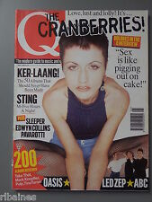 Q Music Magazine May 1996, The Cranberries/Sting/Edwyn Collins/Led Zeppelin