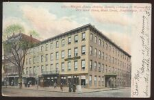 Postcard POUGHKEEPSIE New York/NY Donald, Converse & Maynard Dry Good Store 1906