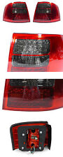 DEPO NO ERROR 1998-2004 AUDI A6 / S6 C5 5D WAGON RED/SMOKE LED TAIL LIGHTS LAMPS