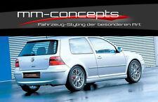VW Golf 4 IV GTI 25th Heckschürze Heckansatz Diffuseur ed25 mk4 approche croquer