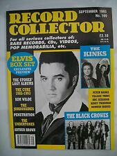 Record Collector Magazine, September 1993, No. 169, The Kinks, The Black Crowes