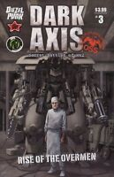 Dark Axis: Rise of the Overmen #3 (of 4) Comic Book - Ape Entertainment