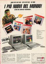 Pubblicità Advertising AMSTRAD 1987 NUOVI CPC 464 - CPC 6128 Plus - GX 4000