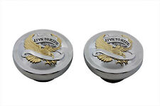 Live to Ride Gas Cap Set Vented and Non-Vented fits Harley-Davidson