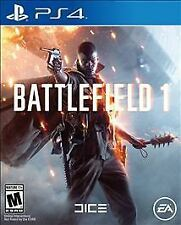 Battlefield 1 (SONY PlayStation 4, 2016). EXCELLENT CONDITION.  FAST FREE S & H.
