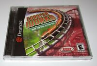 Coaster Works for Sega Dreamcast Brand New! Fast Shipping!