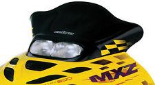 Powermadd Cobra Windshield Ski-Doo Zx Chassis Black W/Yellow Checks P/N 13225