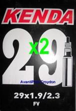 "2x Kenda 29"" PRESTA MTB Tube 29x1.9/2.3 F/V 36mm Valve 2-pack discount 29er"