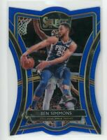 2019-20 Ben Simmons 89/249 Panini Select Blue #162 Die-Cut
