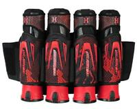 New HK Army Zero G 4+3+4 Paintball Pod Harness / Pack - Fire Red