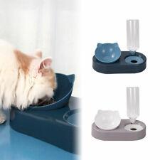 2-in-1-Katzennapf Automatischer Wasserspeicher Haustier Hund Katzenfutternapf