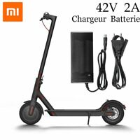 42V 2A pour Xiaomi Mijia M365 électrique Scooter Batterie AC Chargeur Adaptateur