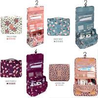 Travel Cosmetic Organizer Essentials Bag Large Toiletry Hanging Waterproof Kit