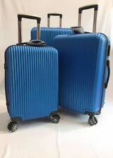4 Wheel Spinner Luggage Set ABS Set of 3 piece suitcase  Ultra Lightweight