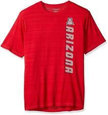 Champion NCAA Arizona Wildcats Men's Stripe Shirt Red Large U of a