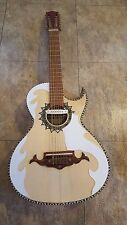 Guitarras De Parracho  Micas Bajo Quinto/Sexto (Pickguards Only) White 012