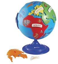 Learning Resources Puzzle Globe, 7 Continent Pieces, 8 Inches